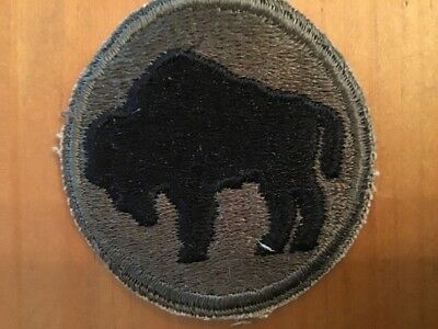 Ww2 Us Army 92Nd Infantry Division Patch