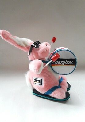 "2007 Original Energizer Batteries Bunny Rabbit 20"" Tall Plush Toy Large"