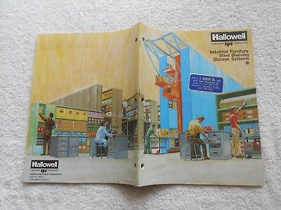 1981 Hallowell Industrial Furniture Steel Shelving Storage Systems-113 Pages