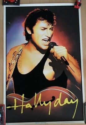 Johnny Hallyday Poster velours