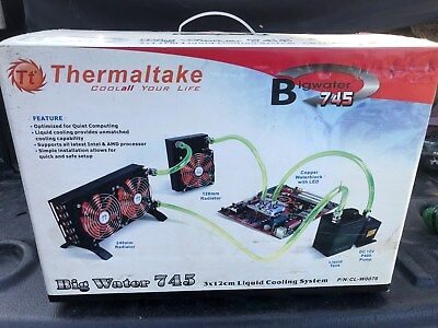 Thermaltake Big Water computer motherboard liquid cooling kit, processor, Intel