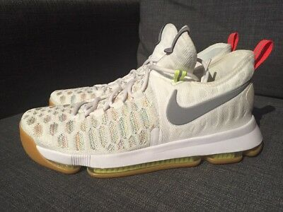 95f1223368d3 Nike Zoom KD 9 Size 9.5 Shoes Summer Pack Gum Bottom Multi 843392-900