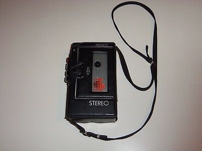 Vintage 1980's Sony Stereo Cassette-Corder TCS-350 /w Case (Parts and Repair)
