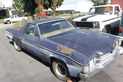 1971 Chevrolet El Camino Pick Up , California Wagen - Bastler , Nur 7% Zoll.
