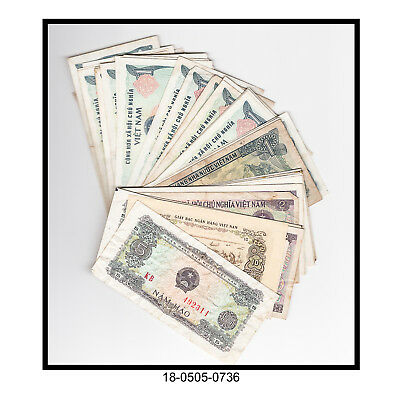 Lot of 48 Viet Nam Bank Notes