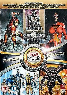 Marvel knights collection(8 Film) DVD NUOVO DVD (101animebox1)