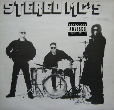 "Stereo MC's Lost In Music Vinyl Record Original 1991 12"" Hip Hop"
