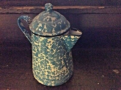 Vintage Tea Pot/ Kettle Graniteware