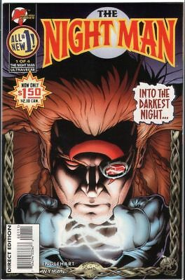 Night Man # 1 - US Comic - Malibu Comics
