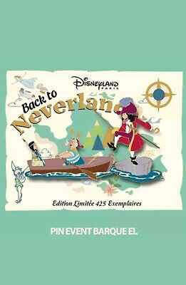 Pin's PTE Back to Neverland EL Barque