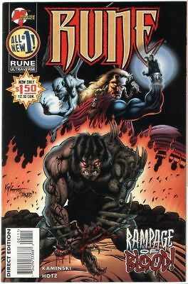 Rune # 1 - US Comic - Malibu Comics