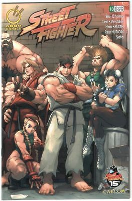 Street Fighter # 10 - US Comic - Udon Comics