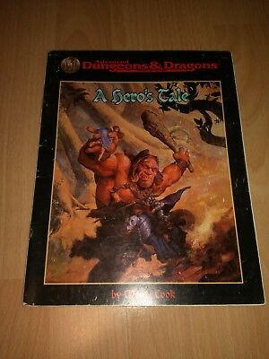 A Hero's Tale AD&D 2nd Edtion Module 9534 (D&D, TSR) 1996 english