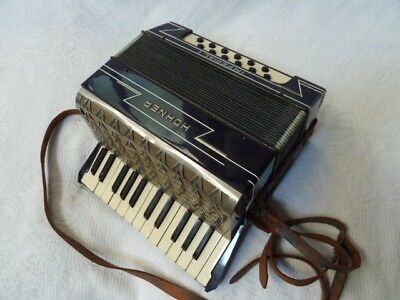 Hohner Imperial I - 12 Bass 25 Treble - miniature Piano Accordion 1930's vgc
