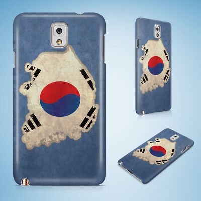 South Korea National Country Flag 2 Hard Case For Samsung Galaxy A3/a5/a7/a8