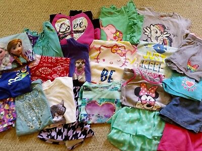 Girls Summer Clothing Clothes LOT size 10/12 QUALITY 22 items! Super CUTE!
