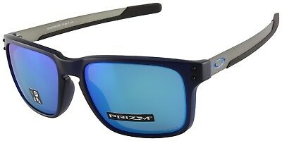 Oakley Holbrook Mix Sunglasses OO9384-0357 Translucent Blue |Prizm Sapphire Lens