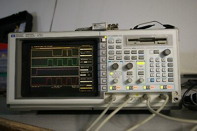 HP Agilent 54542C 500 MHz 2GSa real-time color digital Oscilloscope DSO my best