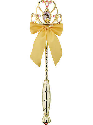 Child's Girls Deluxe Disney Princess Belle Beauty And The Beast Wand Accessory