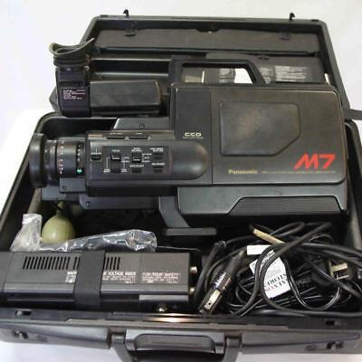 Panasonic NV-M7A VHS Movie Camera Recording and Playback #14839