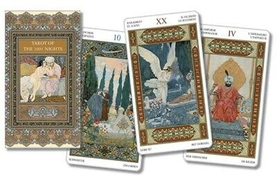 Tarot of the Thousand and One Nights (78 Cards with Instructions) (Cards)