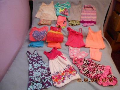 19 Pc Mixed Lot Girls Size 7-8 Used Summer Clothing