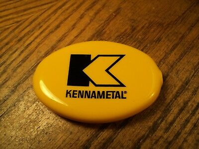 "Vintage Kennametal Pocket Flexible Squeeze Coin Pouch Purse   3"" Long"