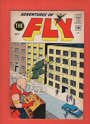 Adventures of the Fly #26 --  1963 - Flygirl - The Spider!  -- --  VG/FN  cond.