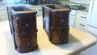 4 vintage/antique sewing machine   drawers   new home