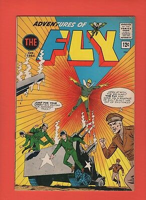 Adventures of the Fly #29 -- 1963 - Flygirl - The Black Hood -- --  VG/FN  cond.