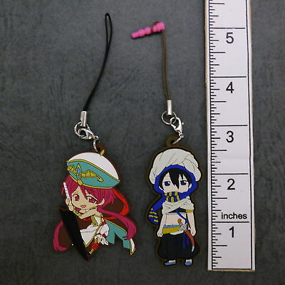 #n065 Anime Character Rubber Strap Magi The Labyrinth of Magic