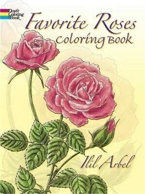 Favorite Roses Coloring Book (Paperback or Softback)
