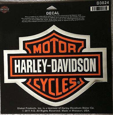 Harley-Davidson Motorcycles Bar & shield Logo Decal 2011 D3024