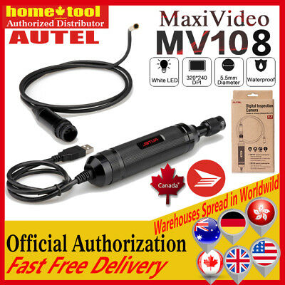AUTEL MaxiVideo MV108 Digital Video Inspection Scope 8.5mm For MaxiSys PRO MS908