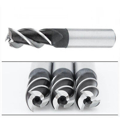 1pcs 3 Flute HSS & Aluminum End Mill Cutter CNC Bit 2mm-20mm as you choose