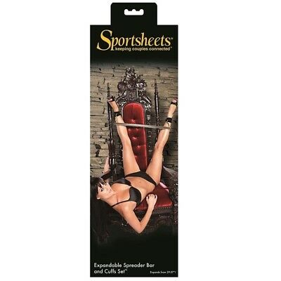 Sportsheets Barra Suspension Con Esposas