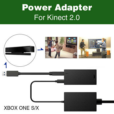 KINECT V2 WITH ADAPTER FOR XBOX ONE S , X & PC + VRCHAT - Plug and Play