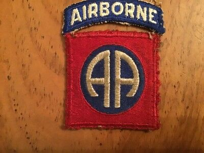 Ww2Us Arny 82Nd Airborne Division Patch