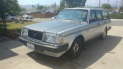 1987 Volvo 240 DL Clean Solid California Station Wagon! Ready for restoration! No Reserve Auction!