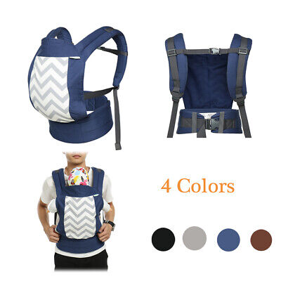 6-in-1 Newborn Infant Baby Carrier 3D Mesh Hiking Backpack Elastic Strap 0-3 Yrs