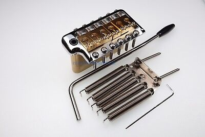 PRS Style Tremolo Bridge Custom CE Trem Arm Bar All Brass CHROME