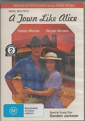 A Town Like Alice Bryan Brown And Helen Morse 2 Disc All Region New Dvd