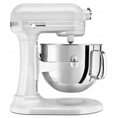 NEW KitchenAid Pro Line KSM7581 Frosted Pearl Stand Mixer
