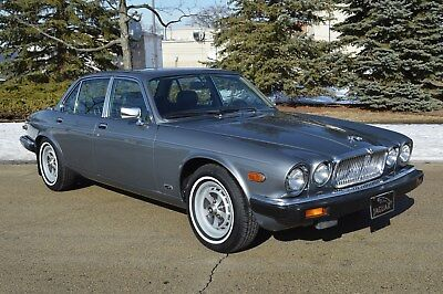 1987 Jaguar XJ6 4 door sedan 55,000 ~ low mileage original presentation. Very clean example - stunning!