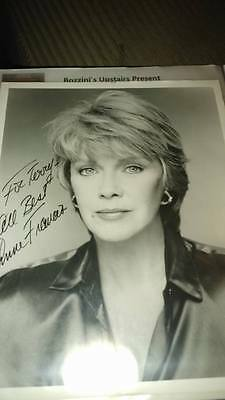 Anne Francis  signed 8x10 picture  authentic signed !!!