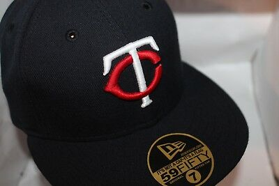 official photos 11538 50f72 Minnesota Twins New Era MLB Authentic Collection Home 59Fifty,Cap,Hat 7