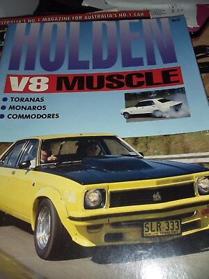 Holden V8 Muscle Mag.- Featuring Toranas, Monaros And Commodores