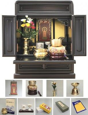 NEW! BUTSUDAN (BUDDHIST ALTAR) CABINET SHRINE  14 Jyodoshinsyu Made in Japan