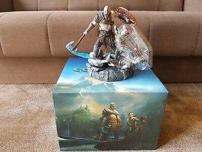 FIGURINE + BOX God Of War PS4 2018 Collector's Edition (BRAND NEW) figure statue