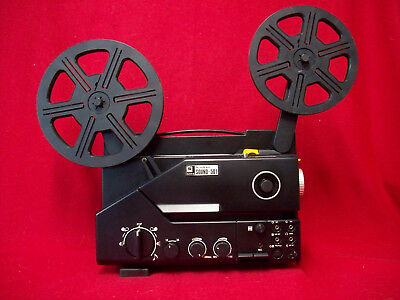 SANKYO 501 SUPER 8mm SOUND MOVIE PROJECTOR, 100w LAMP, ZOOM LENS, SERVICED A1
